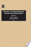 Research In Organizational Change And Development book