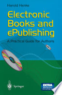 Electronic Books and ePublishing