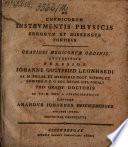 De chemicorum instrumentis physicis  errorum et dissensus fontibus