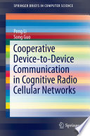 Cooperative Device-to-Device Communication in Cognitive Radio Cellular Networks