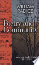Poetry and Community