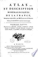Atlas et description minéralogiques de la France