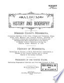 Album Of History And Biography Of Meeker County Minnesota book