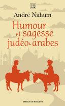 Humour et sagesse judéo-arabes, Ch'hâ, proverbes et contes