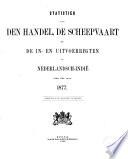 Statistiek van den handel en de in- en uitvoerrechten in Nederlandsch-Indië