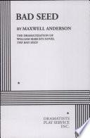 Bad Seed Book PDF
