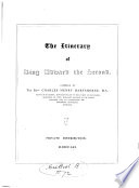 The Itinerary of King Edward the Second