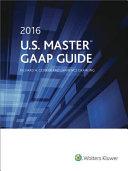 U  S  Master GAAP Guide  2016
