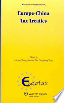 Europe China Tax Treaties