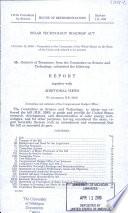 Solar Technology Roadmap Act