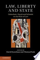 Law Liberty And State book