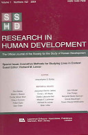 Innovative Methods For Studying Lives In Context : extends in significant ways the...