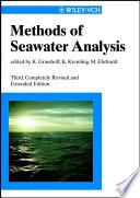 Methods of Seawater Analysis
