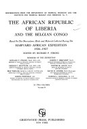 The African Republic Of Liberia And The Belgian Congo