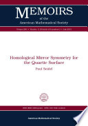 Homological Mirror Symmetry for the Quartic Surface