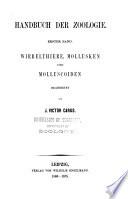 Handbuch der Zoologie