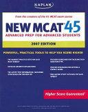 New MCAT 45 2007