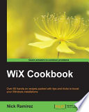 WiX Cookbook : wix projects and would like to...