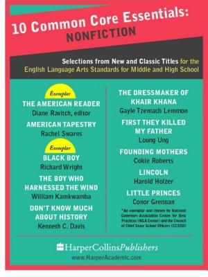 10 Common Core Essentials: Nonfiction: Selections from New and Classic Books for the English Language Arts Standards for Middle and High School - ISBN:9780062296160