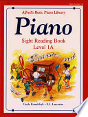 Piano Sight Reading Book Level 1A