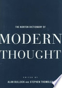 The Norton Dictionary of Modern Thought
