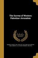 SURVEY OF WESTERN PALESTINE-JE