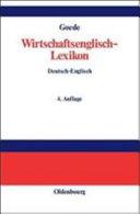 Wirtschaftsenglisch Lexikon  1  2000