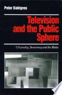Television And The Public Sphere