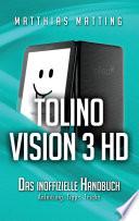Tolino Vision 3 HD     das inoffizielle Handbuch