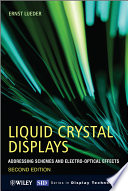 Liquid Crystal Displays book