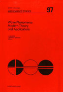 Wave Phenomena: Modern Theory and Applications