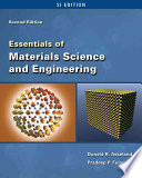 Essentials of Materials Science   Engineering   SI Version