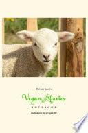 Vegan Quotes Notebook