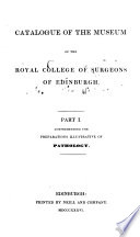 Catalogue of the Museum of the Royal College of Surgeons of Edinburgh