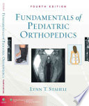 Fundamentals Of Pediatric Orthopedics book