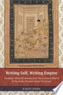 Writing Self  Writing Empire