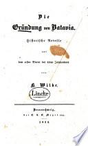 Die Gründung von Batavia
