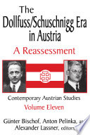 The Dollfuss/Schuschnigg Era in Austria
