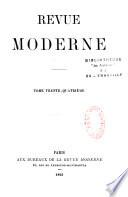 Revue moderne  Paris  1865