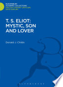 T  S  Eliot  Mystic  Son and Lover