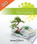 Contemporary Marketing  2013 Update