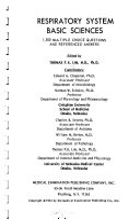 Respiratory System Basic Sciences