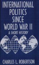 International Politics Since World War II