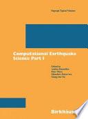 Computational earthquake science  1