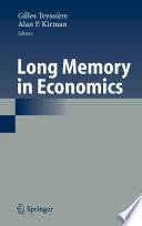 Long Memory in Economics