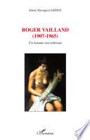 Roger Vailland (1907-1965)