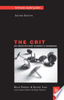 The Crit  An Architecture Student s Handbook