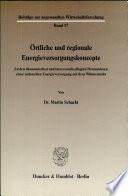 Örtliche und regionale Energieversorgungskonzepte