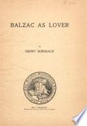 Balzac as Lover