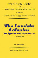 The Lambda Calculus